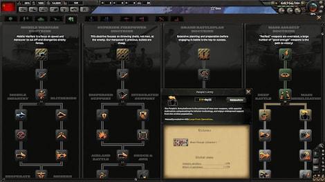 Hearts of Iron IV: Cadet Edition Steam Key GLOBAL - rozgrywka - 9