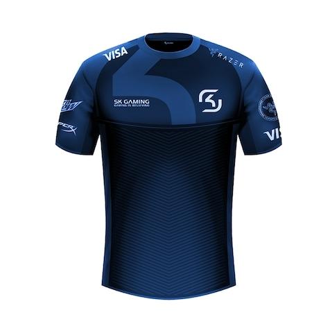 SK Gaming - Match - Jersey - Sponsor XS Navy - G2A COM