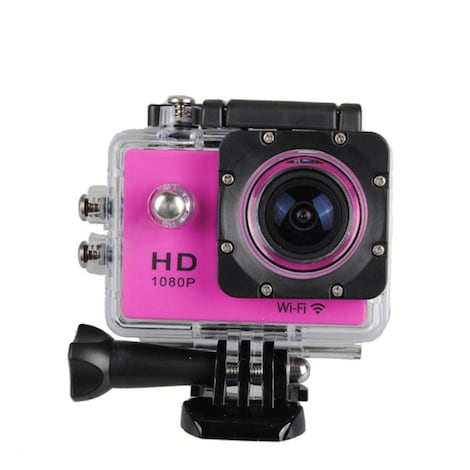 Waterproof Sports camera  - WIFI action 1080P HD DV  Blue - product photo 7