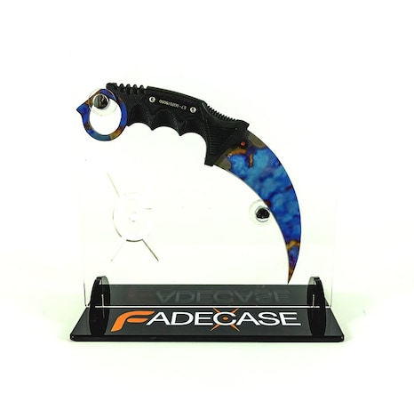 Case Hardened - Karambit Elite - Fadecase Karambit Sharp