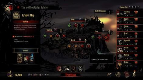 Darkest Dungeon Steam Key GLOBAL - gameplay - 5