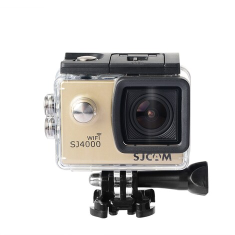SJCAM SJ4000 WIFI Action Camera FHD1080P waterproof Underwater Camera 12MP Sports Camcorder Gold