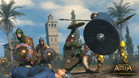 Total War: ATTILA - Age of Charlemagne Campaign Pack Key Steam RU/CIS - screenshot - 16