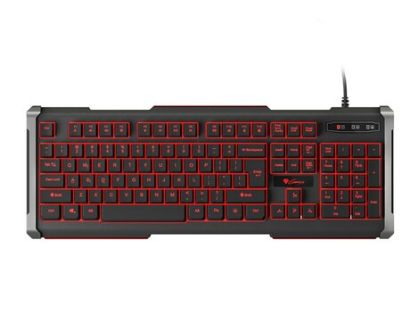 GAMING KEYBOARD GENESIS RHOD 400 US LAYOUT WITH BACKLIGHT