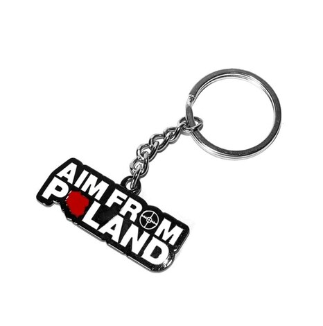 AIM FROM POLAND - Keychain