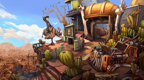 Deponia Trilogy Steam Key GLOBAL - gameplay - 25