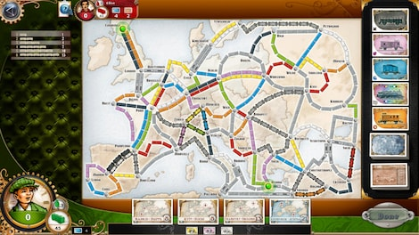 Ticket To Ride Europe Key Steam Global G2a Com