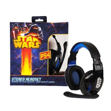 Headset Star Wars compatible with PS3 - PS4 - X360 - PC
