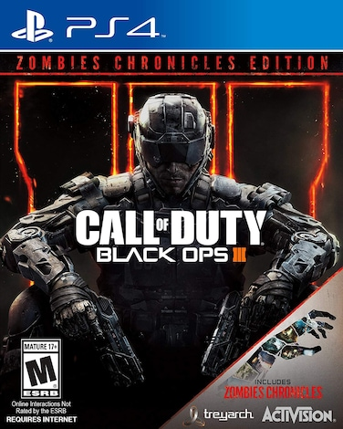 Ps4 Call Of Duty Black Ops Iii Zombie Chronicle 9 In 1 R2 G2a Com