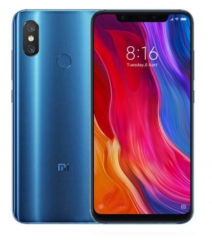 Xiaomi Mi 8 blue - 6/128Gb, LTE  MZB6594EU