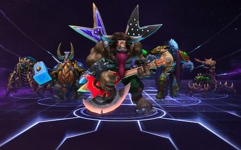 Heroes of the Storm Starter Pack Blizzard Key EUROPE