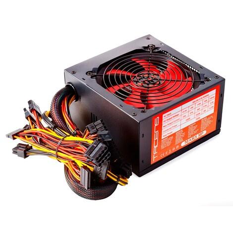 Mars MPII650 Gaming - PC Gaming power supply (650W, ATX, 12 cm fan, PFC Active, single rail 12V) - product photo 1