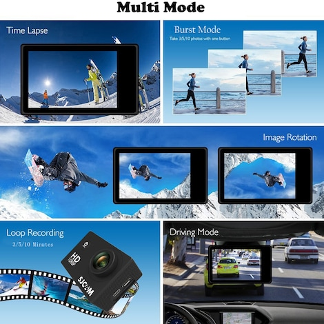 SJCAM SJ4000 WIFI Action Camera FHD1080P waterproof Underwater Camera 12MP Sports Camcorder - product photo 3