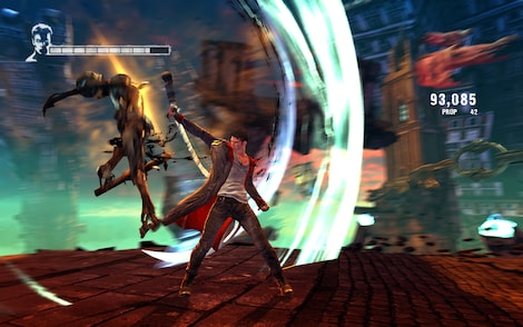 DmC: Devil May Cry Steam Key GLOBAL - gameplay - 6