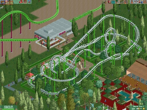 RollerCoaster Tycoon 2: Triple Thrill Pack Steam Key GLOBAL - gameplay - 19