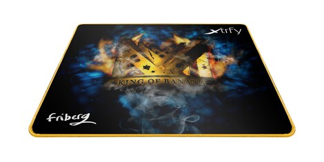 XTP1, Mousepad Large, Friberg, King of Banana