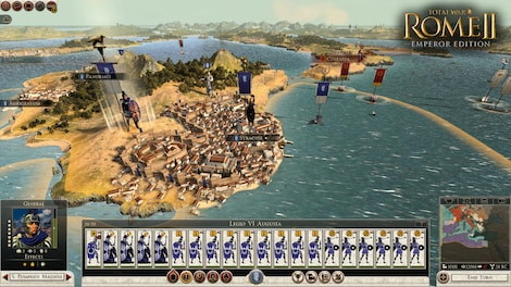 Total War: ROME II - Emperor Edition + 4 DLCs Steam Key GLOBAL - rozgrywka - 16