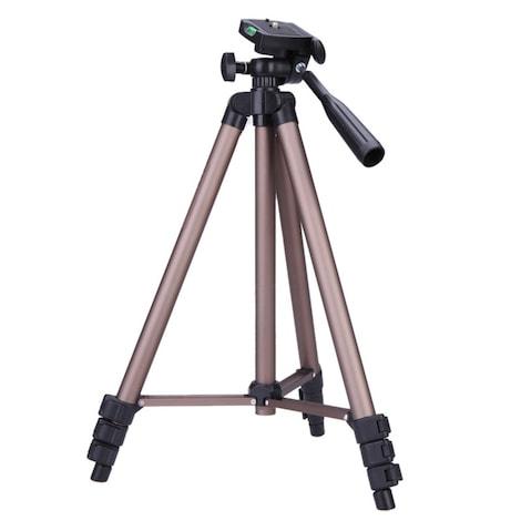 Weifeng WT3130 Portable Lightweight Aluminum Camera Tripod Multi-Color Metal