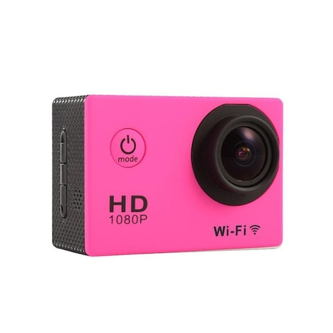 Waterproof Sports camera  - WIFI action 1080P HD DV  Blue - product photo 4