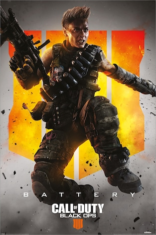 Call of Duty: Black Ops 4 Battery Maxi Poster 61x91 . 5cm