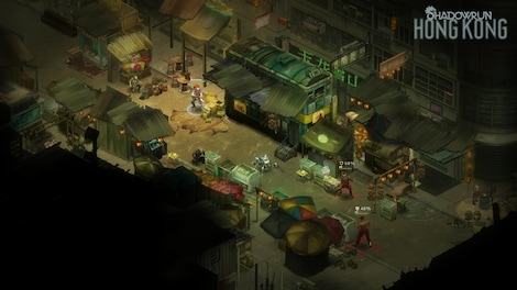 Shadowrun: Hong Kong - Extended Edition Steam Key GLOBAL - gameplay - 5