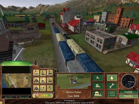 Railroad Tycoon 3 Steam Key GLOBAL - gameplay - 4