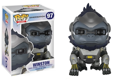 Funko Pop! Vinyl: Games - Overwatch - Winston