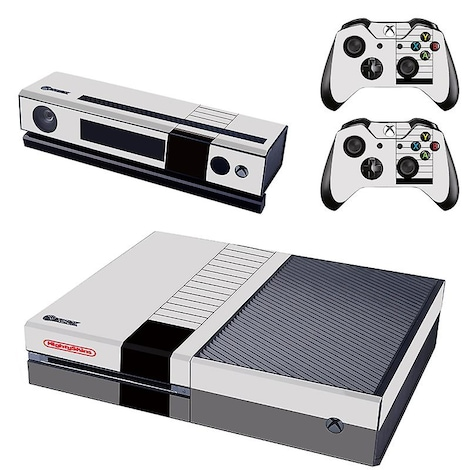 [REYTID] Xbox One Console Skin / Sticker + 2 x Controller Decals & Kinect Wrap - Nintendo XBOX ONE Multi-colour