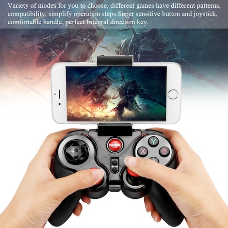 Wireless Bluetooth Connect Gamepad Rechargeable Controller - photo do producto 2