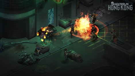 Shadowrun: Hong Kong - Extended Edition Steam Key GLOBAL - gameplay - 8