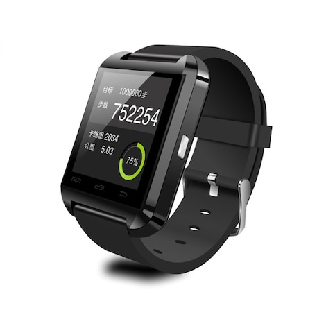 Bluetooth Smart Watch for Android Smartphones Black