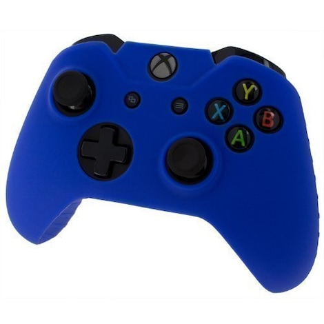 [REYTID] Xbox ONE Controller Skin Silicone Protective Rubber Cover Gel Grip Case - Blue Blue XBOX ONE