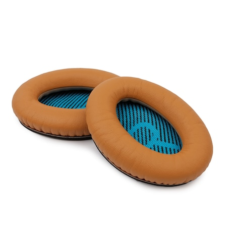 [REYTID] Bose QuietComfort 25 / SoundTrue Around-Ear Replacement Ear Cushion Kit / Ear Pads - Brown Brown