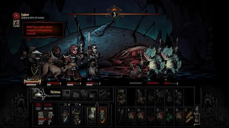 Darkest Dungeon Steam Key GLOBAL - gameplay - 13
