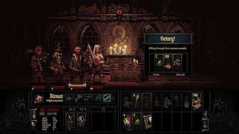 Darkest Dungeon Steam Key GLOBAL - gameplay - 10