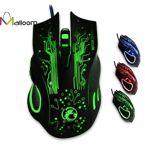Professional Mouse 2400 DPI Green