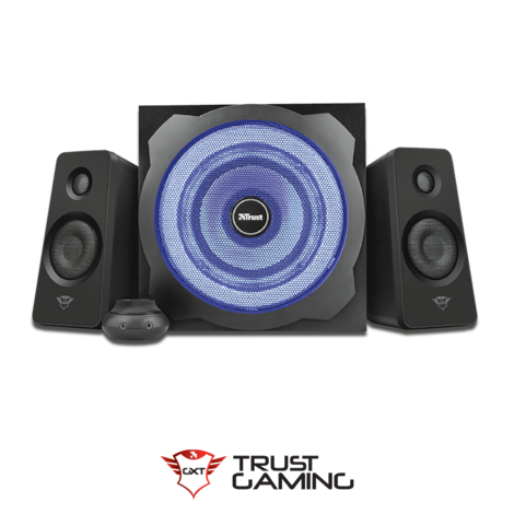 Trust Gaming GXT 628 Speaker Set Black Plastic