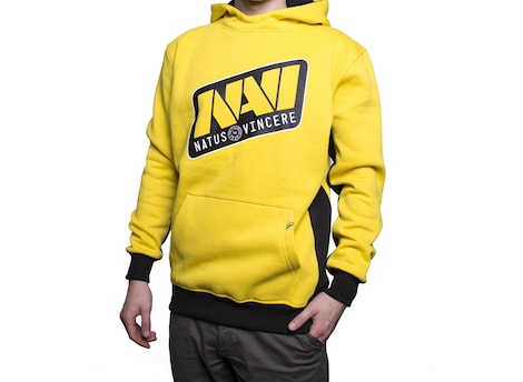 NAVI: Classic Player Men's Hoodie 2017 Edition L Yellow