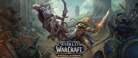 World of Warcraft: Battle for Azeroth Blizzard Key EUROPE - gameplay - 13