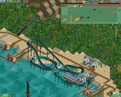 RollerCoaster Tycoon 2: Triple Thrill Pack Steam Key GLOBAL - gameplay - 11