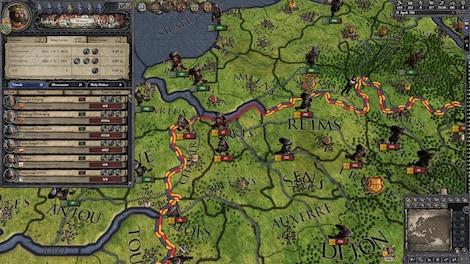 crusader kings ii charlemagne steam key global g2a com