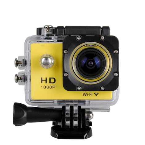 Waterproof Sports camera  - WIFI action 1080P HD DV  Blue - product photo 8