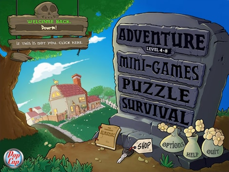 Plants vs. Zombies GOTY Edition Steam Key GLOBAL - gameplay - 10