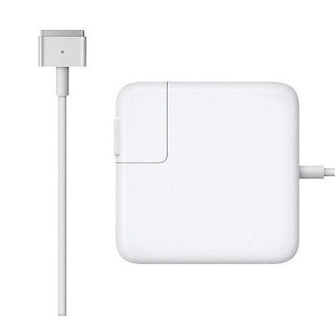 High Quality CE 60W T-style MS2 Power Adapter Charger for Apple Macbook PRO (Retina) 15-inch A1398 EU plug - product photo 1