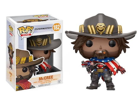 Pop! Vinyl: Games - Overwatch - McCree 2
