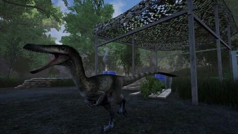Dinosaur Isle Blinking Eye