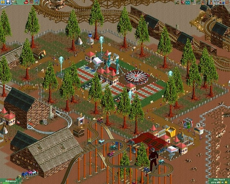 RollerCoaster Tycoon 2: Triple Thrill Pack Steam Key GLOBAL - gameplay - 14