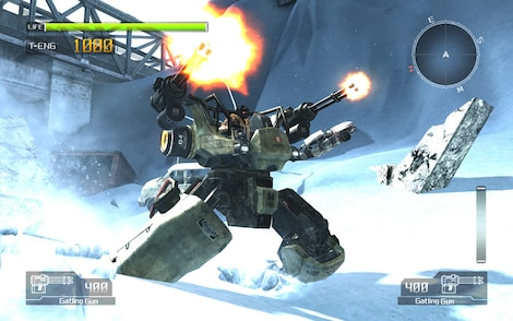 Lost Planet: Extreme Condition Steam Key GLOBAL - gameplay - 5