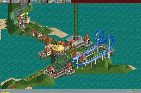 RollerCoaster Tycoon: Deluxe Steam Key GLOBAL