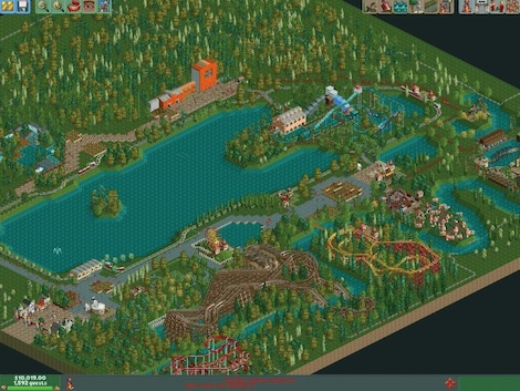 RollerCoaster Tycoon 2: Triple Thrill Pack Steam Key GLOBAL - gameplay - 18